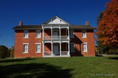 Grinter House.built in 1857---the oldest home in Wyandotte, KS---near Kansas City.Hours of operation:  9:30 a.m. to 5:00 p.m. Wednesday through Saturday. Admission is $3 for adults and $1 for students.  Grinter Place State Historic Site 1400 South 78th Street Kansas City, Kansas