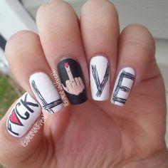 VALENTINE by 101nailfreak  #nail #nails #nailart
