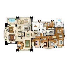 Palazzo Lumini | 874m² | Ecoville | Curitiba