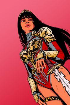 Wonder Woman Art, Wonder Woman Comic, Comic Style Art, Comic Styles, Comic Books Art, Comic Art, Dc Vibe, Comic Character, Character Design