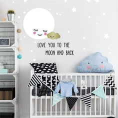 Brilliant 727 Best Nursery Accent Walls Images In 2019 Home Interior And Landscaping Synyenasavecom