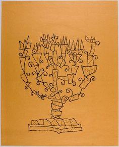 Ben Shahn, Menorah, 1965, Harvard Art Museums/Fogg Museum