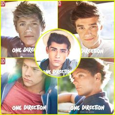 One Direction: 'Take Me Home' Individual Album Covers!