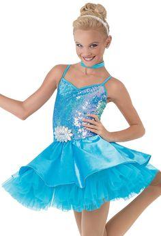 Weissman™ | Party Dress with Satin Skirt