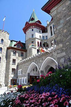 Badrutts Palace Hotel - St. Moritz by Devonaire Eye, via Flickr