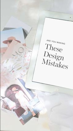 tabithaemma on Instagram: Are you making these design mistakes? I often find small tweaks can make a big difference. When a design is feeling off it may just need… Different, Creative Business, Mistakes, Audio, Graphics, Canning, Feelings, Big, How To Make