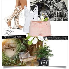 Sin título #384 by mariangel181 on Polyvore featuring polyvore fashion style VILA Zadig & Voltaire Ray-Ban Eos