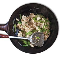 Stir-Fried Chicken with Celery (Jirou Chao Qincai) Recipe   SAVEUR