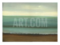 Calm Sea Art Print by Caroline Gold at Art.com