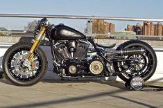 Harley-Davidson Fatboy Bobber Motorcycle - 2 #harleydavidsonfatboylow #harleydavidsonfatboybaggers