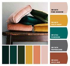Paint colors from ColorSnap by Sherwin-Williams Pain. Paint colors from ColorSnap by Sherwin-Williams Paint colors from ColorSnap by Sherwin-Williams Paint Color Schemes, Living Room Color Schemes, Colour Pallete, Paint Colors, Apartment Color Schemes, Bedroom Colour Schemes Green, Rustic Color Schemes, Modern Color Palette, Interior Color Schemes