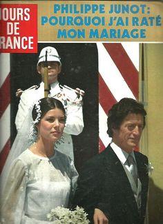 Jours de France N°1358 Philippe Junot,caroline Monaco