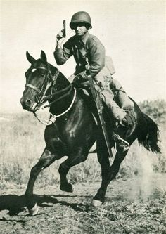 During WW2 the US continued fielding horse cavalry units and practice training.The last horse Army cavalry charge took place against Japanese forces during fighting in Bataan in the village of Morong on 16 Jan 1942 by the 26th Cavalry Regiment of the Philippine Scouts.The 10th Mountain Cavalry Reconnaissance Troop of the 10th Mountain Divisionwhile not designated as U.S. Cavalry conducted the last horse-mounted charge of any Army organization whilst engaged in Austria in 1945.