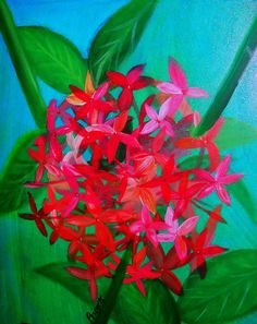 Inspiration for background of my flower painting
