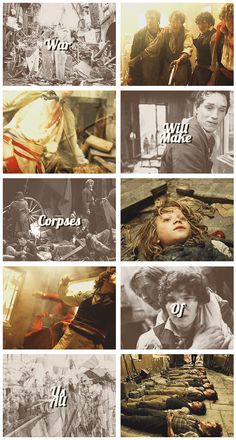 War will make corpses of us all.