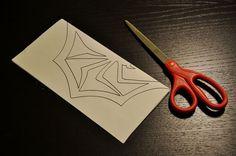 Jack Skellington's Paper Spider Snowflake - All
