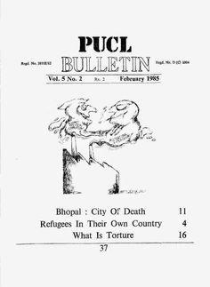 Sikh Digital Library: PUCL Bulletin Vol. 5 No. 2 February 1985
