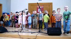 Vystoupení dětí z CMŠ Přerov na Noci kostelů 2012