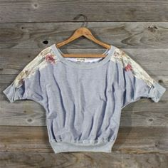 Lace Comforts Sweatshirt, Sweet Country Clothing