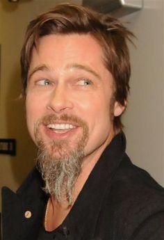 long beard Brad Pitt, Johnny Depp, Long Goatee, Afro, Soul Patch, Tyler Durden, Clean Shaven, Long Beards, Beard No Mustache
