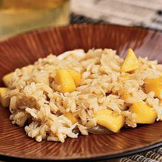 Crab-and Coconut-Risotto with Mango | Coastalliving.com