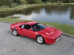 1985 FERRARI 288 GTO  Rosso with Black Leather with Red Inserts