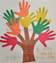 I showed my son the crafts I had pinned to my Thanksgiving Craft Ideas Board and he chose to make a Thankful Handprint Tree found via Crafts by Amanda. We drew our tree trunk , but Amanda also has a free printable tree template that you can use as well. Here's how we made ours:...