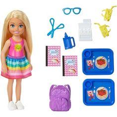 Barbie Club Chelsea Doll And School Playset - One Colour - Mattel Barbie, Barbie Dolls Diy, Barbie Sets, Doll Clothes Barbie, Barbie Doll House, Diy Doll, Barbie Doll Stuff, Baby Barbie, Vintage Barbie Dolls