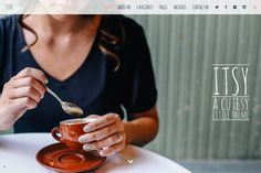 Itsy A Cutesy Little WordPress Theme by MeanThemes on Creative Market
