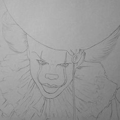 Pennywise The Maleficent Clown From The 2017 Movie It