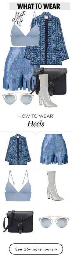 """""""OOTD"""" by gigi-lucid on Polyvore featuring Tata Naka, Velvet by Graham & Spencer, Christian Dior and T By Alexander Wang"""