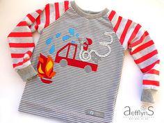 Feuerwehr-Geburtstagsshirt