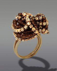 Δαχτυλίδι χρυσό Κ18 με Γρανάδα