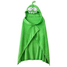 70% Off Cut the Rope Om Nom Hooded Fleece Blanket (2% donation)