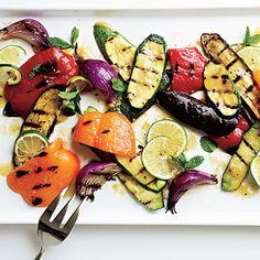 Miso Grilled Vegetables #MeatlessMonday #grilling