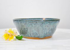 Ready to Ship, Pottery Bowl, Large Bowl, Serving Bowl, Pottery, Wheel Thrown Pottery, Handmade, Fruit Bowl, Salad Bowl, Mixing Bowl, Bowl by ShawnaPiercePottery on Etsy