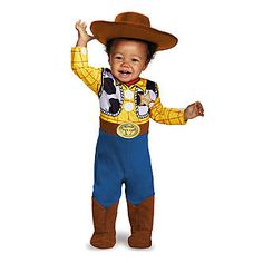 Disney Woody Infant Boy Halloween Costume 12-18 months