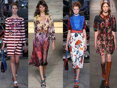 El Marsala en rayas y floral print: Antonio Marras, Williamson, Marras, Louis Vuitton s/s 2015