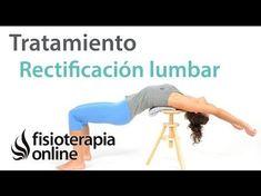 Recitifacion lumbar, ejercicios y estiramientos para corregir la postura y aliviar el dolor - YouTube
