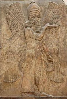 Relieve asirio (Palacio de Nínive).