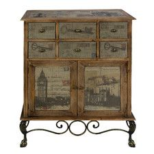 London 6 Over 2 Drawer Chest