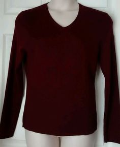c9bf4e55644 Old Navy Burgandy Sweater XL V-Neck Pullover  OldNavy  VNeck Fall Is Here