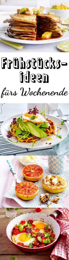 Mit diesen Rezepten wird das #frühstück am Wochenende ein Genuss.
