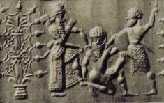 7f - The killing of Enkidu