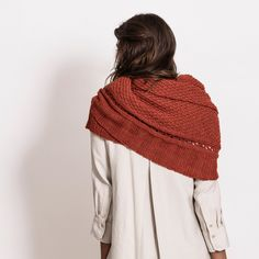 Some women just have that je ne sais quoi. Is it the way they carry themselves? Could it be where they're from? Or, maybe it's just the way they accessorize. This lightweight wrap in Blue Sky Alpacas TECHNO is elegant, graceful, and easy-to-knit. Pattern No. SW