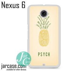Psych Pineapple Phone case for Nexus 4/5/6