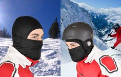 How do YOU keep warm on the slopes?  Try our super warm, high-quality fiber premium Multipurpose Balaclava. You'll feel the difference.