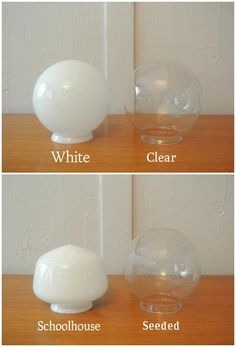 Triple Glass Globe Wall Sconce - Pepe & Carols