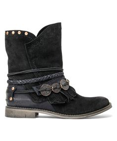 Love this Black Suede Anaeh Boot on #zulily! #zulilyfinds