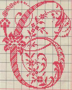 Alfabeto Antico Punto Croce (3) - magiedifilo.it punto croce uncinetto schemi gratis hobby creativi